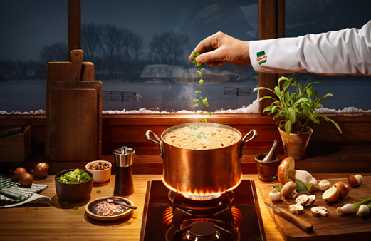 Knorr campaign by Sonja Hofmann Image 1