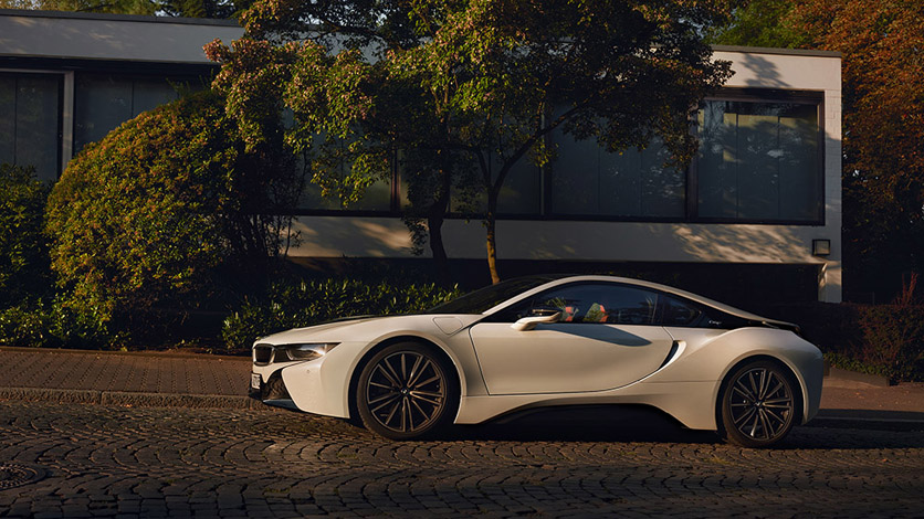 Marc Trautmann photographed the BMW i8 Image 2