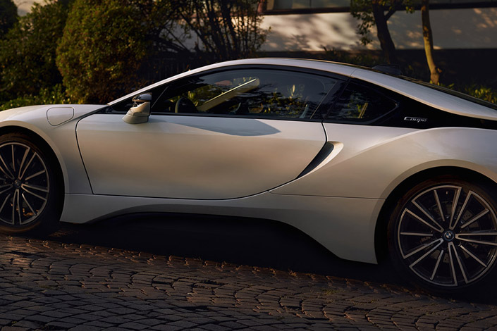 Marc Trautmann photographed the BMW i8 Image 4
